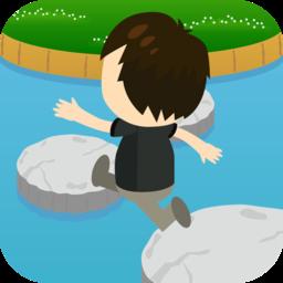 飛び石ぴょん Appon アップオン Iphoneゲームアプリのレビューサイト